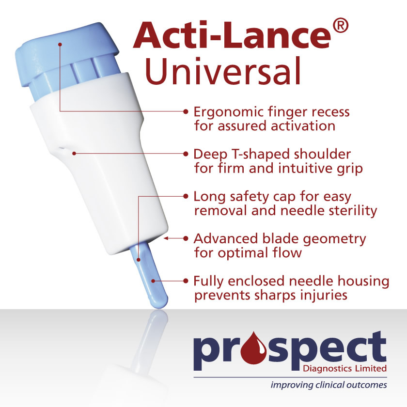 Low cost safety lancets