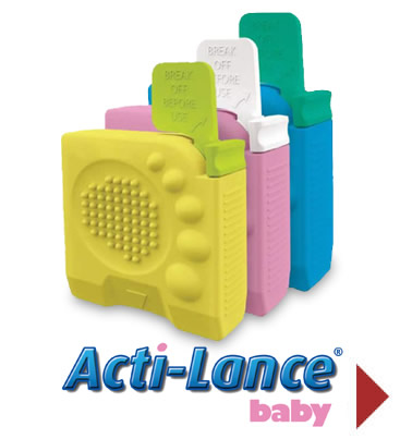 Acti-Lance® baby safety heelstick